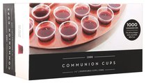 Communion Cups Clear Plastic Recyclable: Bpa Free (Box Of 1000)