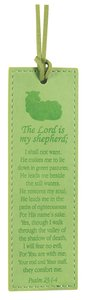 Leather Lux Bookmark: The Lord is My Shepherd, Psalm 23:1-4