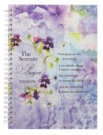 Spiral Hardcover Journal: God Grant Me the Serenity