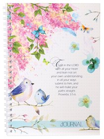 Softcover Journal: Trust in the Lord With All Your Heart, Proverbs 3:5-6