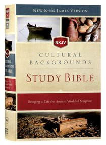 NKJV Cultural Backgrounds Study Bible Red Letter Edition