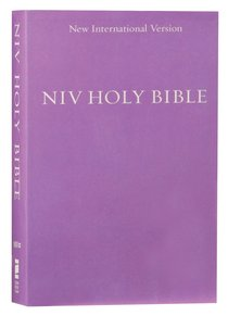 NIV Holy Bible Compact Purple