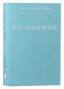 NIV Holy Bible Compact Blue (Black Letter Edition)