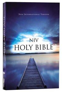 NIV Value Outreach Bible Blue Pier (Black Letter Edition)