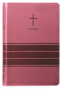 NIV Value Thinline Bible Burgundy (Black Letter Edition)