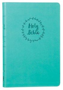 NIV Value Thinline Bible Large Print Blue (Black Letter Edition)