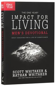 The One Year Impact For Living (Mens Devotional)