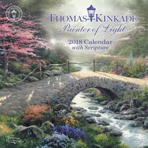 2018 Thomas Kinkade Painter of Light Mini Wall Calendar