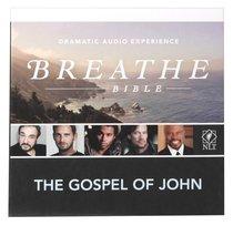 NLT Breathe Audio Bible Gospel of John (2 Cds)