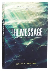 Message Numbered Paperback (Black Letter Edition)