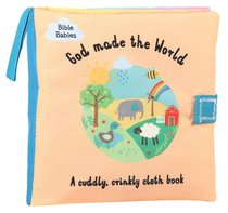 A God Made the World; Cuddly Crinkly Cloth Book