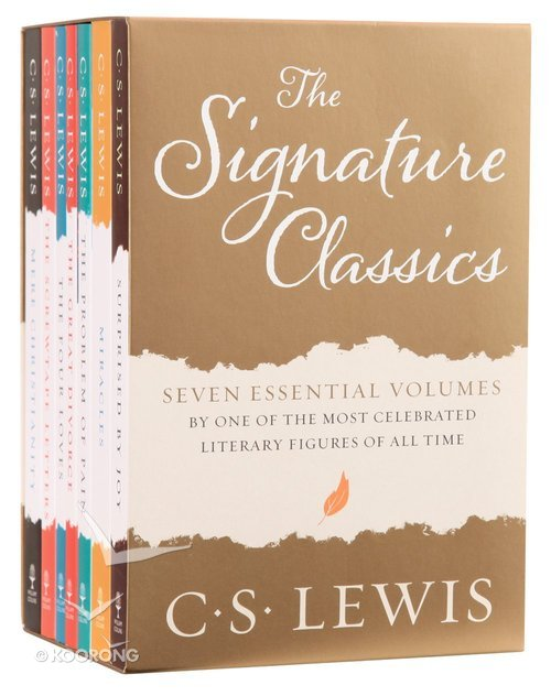 Buy The Complete C S Lewis Signature Classics 7 Volume Set By C S