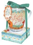 Poppies: Mug & Notepad Giftset, She Is Strong