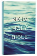 NKJV Value Outreach Bible Blue Scenic