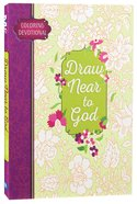 Adult Coloring Devotional: Draw Near to God (Majestic Expressions)