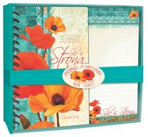Poppies: Journal & Notepad Giftset, She is Strong