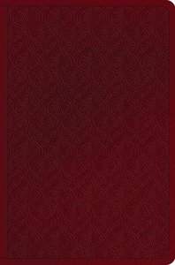 ESV Value Compact Bible Ruby Vine Design (Black Letter Edition)