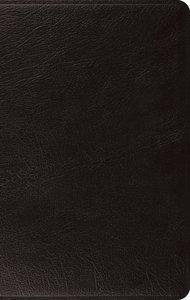 ESV Large Print Thinline Bible Black (Black Letter Edition)