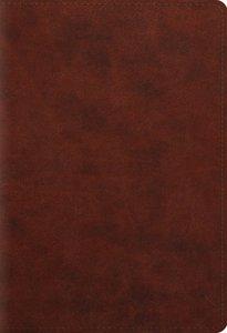 ESV Student Study Bible Chestnut (Black Letter Edition)