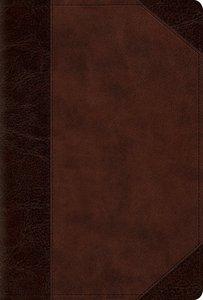 ESV Devotional Psalter Brown/Walnut Portfolio Design (Black Letter Edition)
