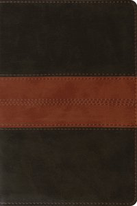 ESV Personal Reference Bible Deep Brown/Tan Trail Design (Black Letter Edition)