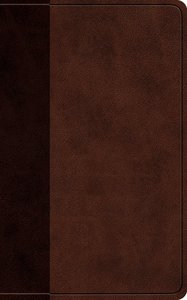 ESV Vest Pocket New Testament With Psalms and Proverbs Brown/Walnut Timeless Design (Black Letter Edition)