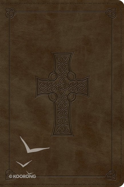 ESV Personal Reference Bible Olive Celtic Cross Design (Black Letter  Edition)