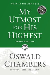 My Utmost For His Highest Easy Print (Large Print)