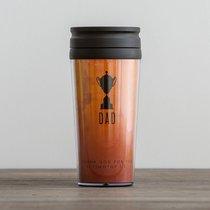 Travel Mug: Trophy Dad (2 Timothy 1:8 NLT) (Orange)