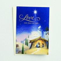 Christmas Boxed Cards: Love Came Down (John 3:16 Kjv)
