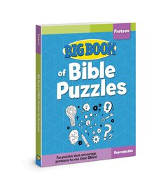 Big Book of Bible Puzzles For Preteens (Reproducible)