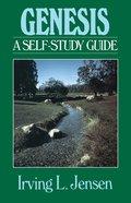 Genesis- Jensen Bible Self Study Guide (Self-study Guide Series)