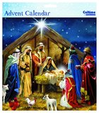 Advent Calendar: Manger Scene