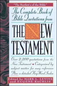 Complete Book of Bible Quotations For the New Testament