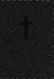 NKJV Ultraslim Reference Indexed Bible Black