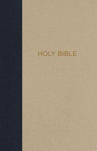 NKJV Thinline Bible Compact Blue/Tan (Red Letter Edition)
