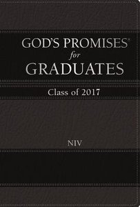 Gods Promises For Graduates: Class of 2017 - Black (Nkjv)