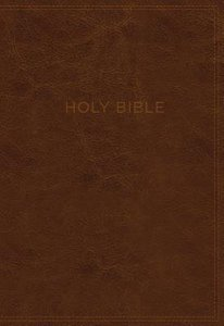 KJV Know the Word Study Bible Brown/Burgundy (Red Letter Edition)