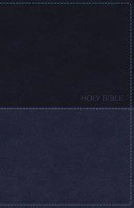 KJV Deluxe Gift Bible Blue Red Letter