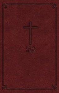 KJV Deluxe Gift Bible Rich Auburn Red Letter
