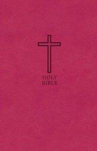 KJV Value Thinline Bible Pink Red Letter Edition