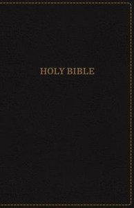 KJV Thinline Bible Large Print Black Indexed Red Letter Edition