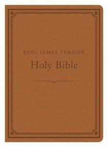 KJV Compact Gift & Award Bible Reference Edition Camel