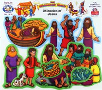 Miracles of Jesus (Beginners Bible In Felt Series)