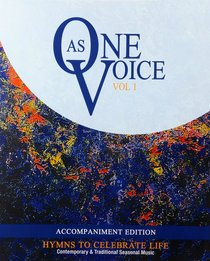 As One Voice Volume 1 (Accompaniment) New Edition (Music Book)