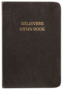 Believers Hymn Book - Words Only (Black Music Book)