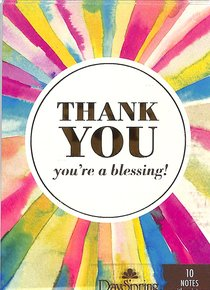 Trend Notes: Rays of Thanks (Genesis 12:2 Nlt)
