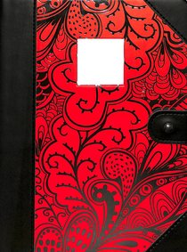 Premium Journal: Monogram With Foil Processed Letters on Cover, Die-Cut Window on Cover