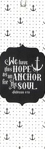 Tassel Bookmark: Hope is the Anchor