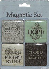 Magnetic Set of 4 Magnets: Travel Range